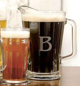 monogram_beer_pitcher
