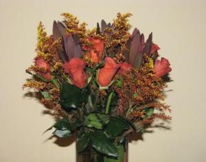 Simple thanksgiving floral arrangement stylish spoon for Simple thanksgiving flower arrangements
