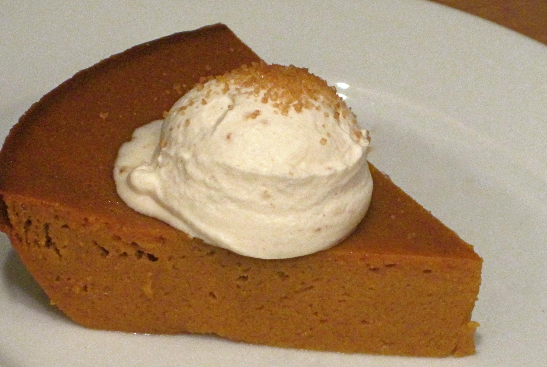 Recipe :: Crustless Pumpkin Pie - Stylish Spoon