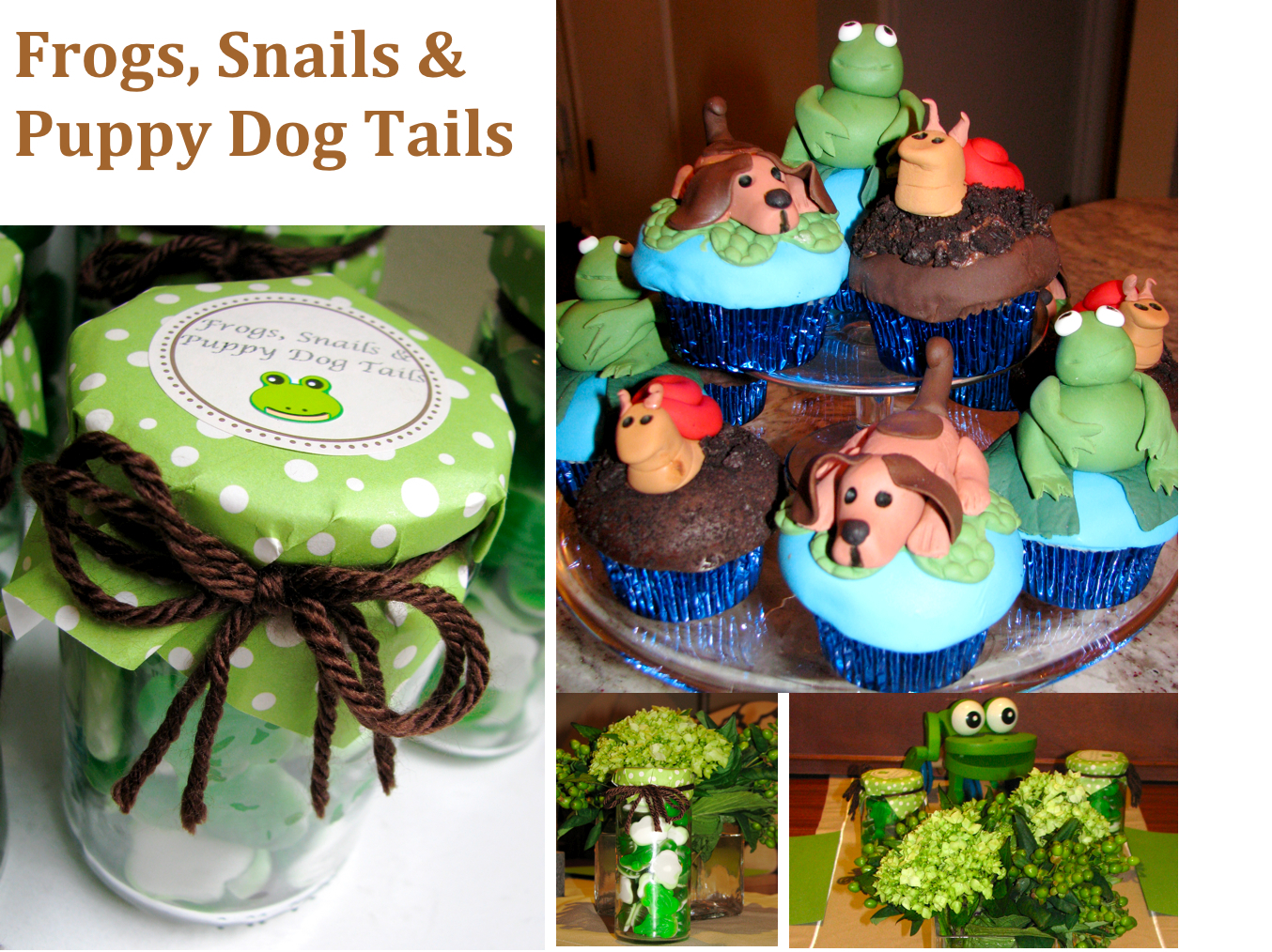 It S A Boy Frogs Snails Puppy Dog Tails Baby Shower Stylish Spoon