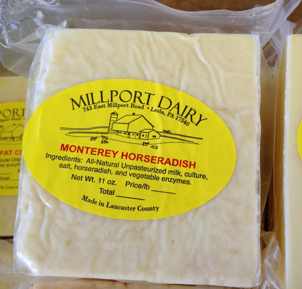 farmer's market raw milk cheese