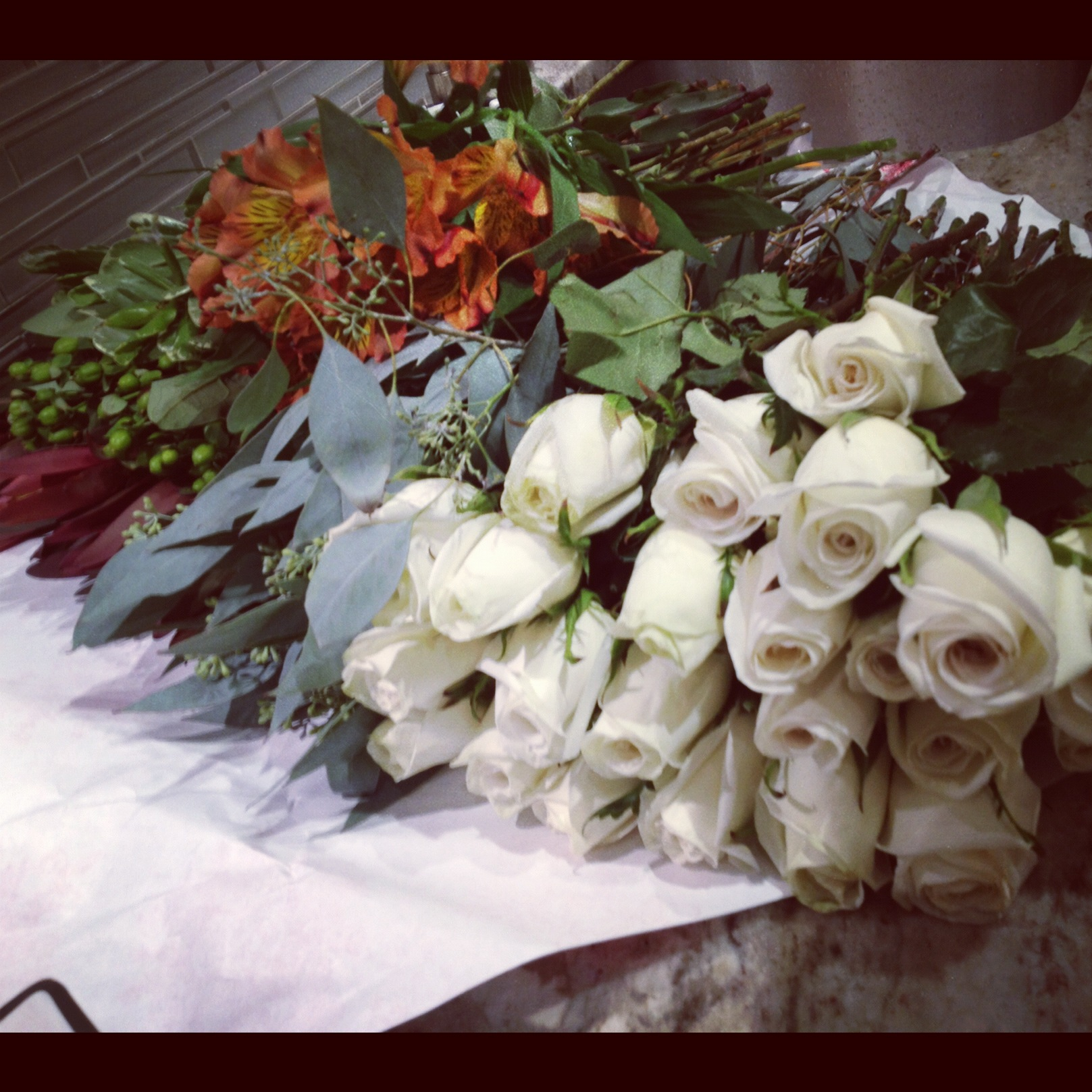 Diy fall flowers how to make 35 flowers look like 120 fall wedding party flowers diy tutorial mightylinksfo