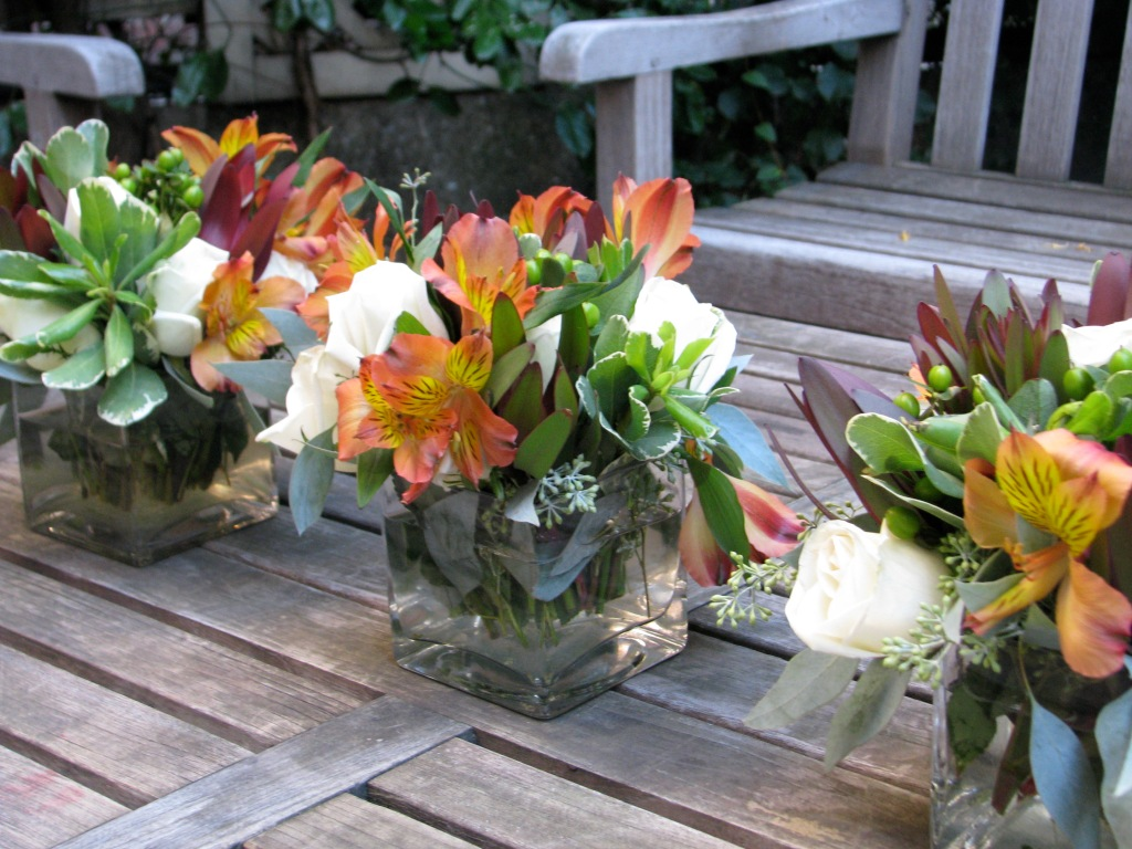 flower arranging tutorial fall party planning